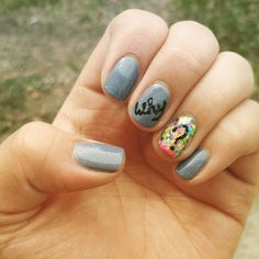 These why nails are cute!