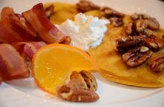 Pumpkin Pancakes ~ Bed and Breakfast Challenge Runner-Up