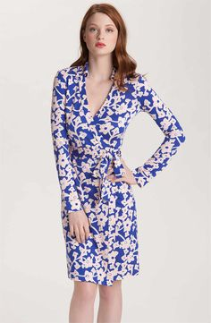 Main Image - Diane von Furstenberg 'New Jeanne Too' Wrap Shirtdress
