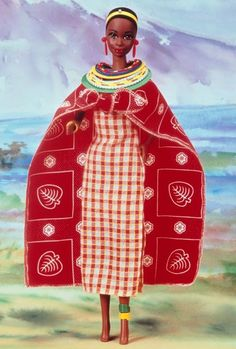 1994 Kenyan Barbie® | Barbie Dolls of the World Collection *DOLLS OF THE WORLD