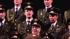Red Army Choir - Moscow Nights (SUBTITLES)