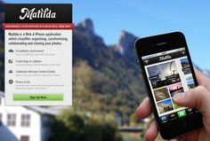 Matilda is a Web & iPhone application which simplifies organizing, synchronizing, collaborating and sharing your photos.