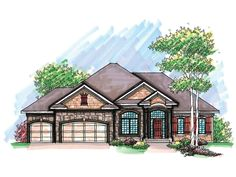 Really like this floor plan. -  Page Manor Ranch Home  from houseplansandmore.com.  HOUSE PLAN #592-051D-0599.   http://houseplansandmore.com/homeplans/houseplan051D-0599.aspx