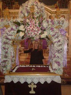 Αγιος Γεωργιος Ευπαλιο 2018 Altar, Greece, Friday, Hair, Painting, Decor, Floral Design, Greece Country, Decoration