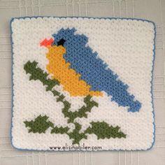 Kuş Motifli Lif