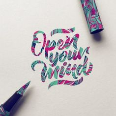 Work by @typebychris #typography #betype #lettering...