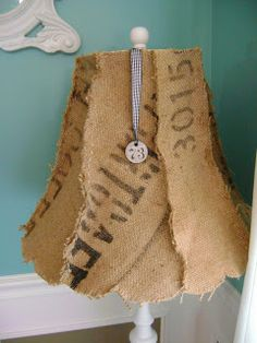 Vintage Junky - Creating Character: Search results for burlap lampshade