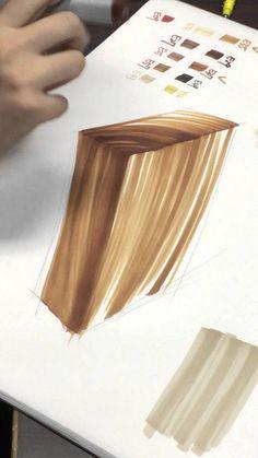 木紋麥克筆