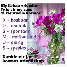 Best Birthday Wishes Quotes, Goeie More, Afrikaans Quotes, Wish Quotes, Bible Prayers, Good Morning Wishes, Friendship Quotes, Blessed, Give It To Me