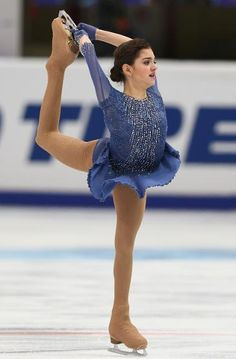 Evgenia Medvedeva ladies free at Rostelecom Cup Moscow 2015