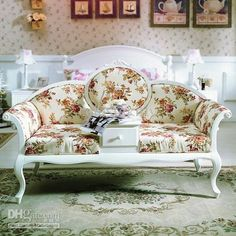 Floral Couch of my dreams!