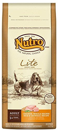 NUTRO Lite Weight Loss Dry Dog Food Chicken Brown Rice and Oatmeal 5 lbs >>> Check out this great product by click affiliate link Amazon.com