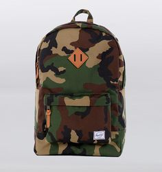 Herschel Heritage Camo Cordura Backpack - Heritage Camo Cordura Backpack