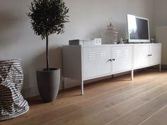 IKEA PS lockers als TV meubel #IKEAenik