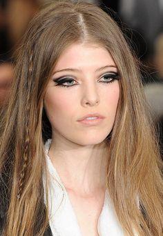 mod rock chic makeup