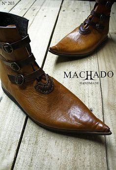 Sapato Medieval José Machado by Machado Handmade, via Flickr