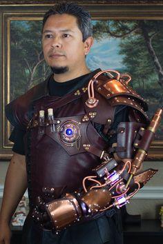Alchemist Arm by CraftedSteampunk.deviantart.com on @DeviantArt