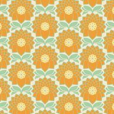 Joel Dewberry fabric - Chrysanthemum Jade from Heirloom collection