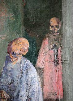 James Ensor (Belgian, 1860 - 1949). Post Impressionism, Masks Art, Memento Mori, Graphic Design Illustration, Figurative Art, Amazing Art, Folk Art, Modern Art, Original Art