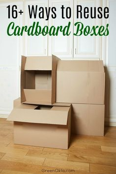 Fun ways to reuse cardboard boxes instead of wasting them. - Fun ways to reuse cardboard boxes instead of wasting them. Cardboard Box Storage, Cardboard Drawers, Recycle Cardboard Box, Diy Cardboard Furniture, Used Cardboard Boxes, Cardboard Box Crafts, Diy Storage Boxes, Cardboard Paper, Cardboard Organizer