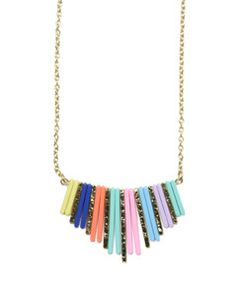 RAINBOW SCALES NECKLACE <> $24.00 <> FURBISH