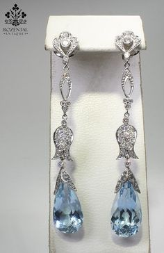 Beautiful earrings. Just remember girls, WHEN ALL ELSE FAILS, ACCESSORIZE!