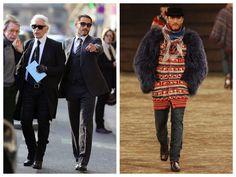 God Save the Queen and all: Model: Sebastien Jondeau el guardaespaldas de Karl... #sebastienjondeau #karllagerfeld #model