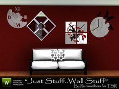 TheNumbersWoman's Just Stuff Wall Stuff