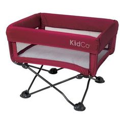 Shop for KidCo DreamPod Portable Cranberry Bassinet. Get free delivery On EVERYTHING* Overstock - Your Online Baby Furniture Shop! Cradles And Bassinets, Portable Crib, Baby Comforter, Baby Bassinet, Cotton Sheets, Traveling With Baby, Baby Store, Baby Needs, Baby Play