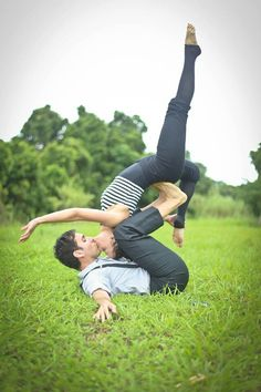 Engagement shoot... if I marry a yoga instructor <3
