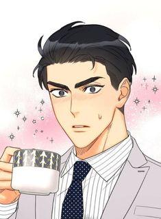 Anime Love Couple, Couple Art, Manga Art, Manga Anime, Anime Boys, Manhwa, Office Blinds, Blind Dates, Kawaii