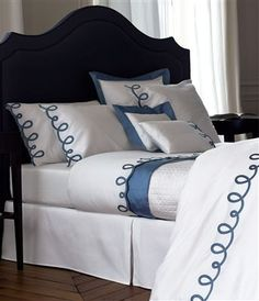 Italics Baltic Luxury Bed Linens by Yves Delorme Italics Baltic Luxury Bed Linens by Yves Delorme Cheap Bedding Sets, King Bedding Sets, Bedding Sets Online, Luxury Bedding Sets, Luxury Bed Linens, Affordable Bedding, Bed Linen Design, Bed Design, Cheap Bed Linen