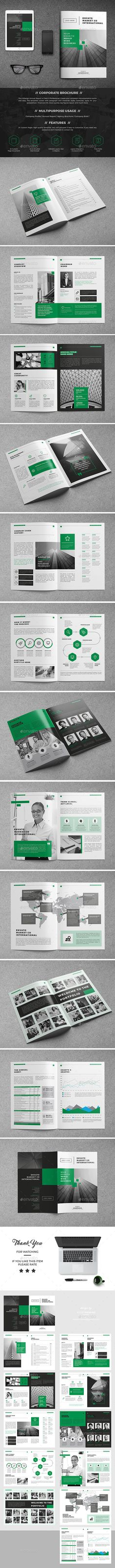 Company Brochure 24 Page • Available here → http://graphicriver.net/item/company-brochure-24-page/15412942?ref=pxcr