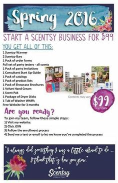 JOIN THE JOURNEY Reach your goals. Find joy in the journey. Join Scentsy. At Scentsy, we want to inspire people with beautiful fragrances and the wonderful places they can take you — and we need help from passionate people like you. ▪️ Scentsy is currently available in: USA, Austria, Australia, Canada, France, Germany, Ireland, Mexico, New Zealand, Spain and the United Kingdom
