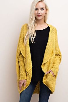 Toasty Knit Cardigan (Two Colors)