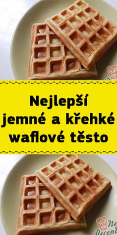 Czech Recipes, Nutella, Ham, Food And Drink, Cooking, Breakfast, Sweet, Kitchen, Cucina