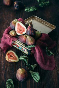 Mediterranean Bostock: baked brioche with pistachio crème, honey, and figs.