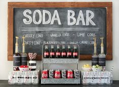 Top off your party with a DIY soda bar! Head over to for details on this fun Coca-Cola bar. 13th Birthday Party Ideas For Girls, Boy 16th Birthday, Teen Girl Birthday, Sleepover Birthday Parties, Party Ideas For Teenagers, Teen Parties, 18th Birthday Party Ideas Decoration, Cool Birthday Ideas, Cool Sleepover Ideas