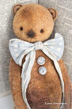 Купить Аркадий (32 см.) - коричневый, мишки тедди, мишка, тедди, теддик, медвежонок