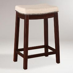 One of my favorite discoveries at WorldMarket.com: Mia Counter Stool