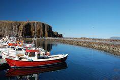 Stykkishólmur harbour, The Snæfellsnes Peninsula