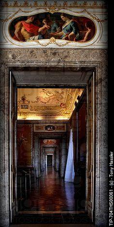 Royal Palace of Caserta , Campania, Italy .