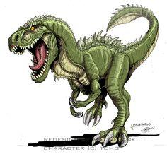 Godzilla Neo - GODZILLASAURUS by KaijuSamurai on deviantART