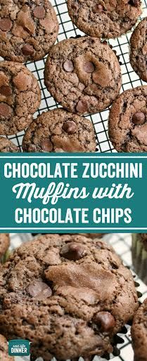The BEST chocolate Zucchini Muffins EVER! One simple step makes them extra fudgey and delicious! ~ http://reallifedinner.com