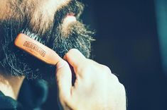 Beard Brush, Boar Bristle, Awesome Beards, Brushing, Hand Designs, Cruelty Free, Eco Friendly, Cactus, Fiber