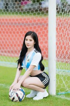 best of Asin memories Girls Golf, Girls Soccer, Soccer Fans, Sporty Girls, Football Girls, Football Outfits, Sport Football, Football Fans, Asian Woman