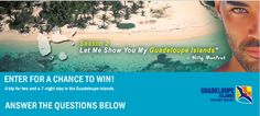 Win A Trip for 2 to Guadeloupe
