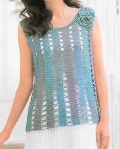 Crochetemoda: Blusas lots of crochet tops