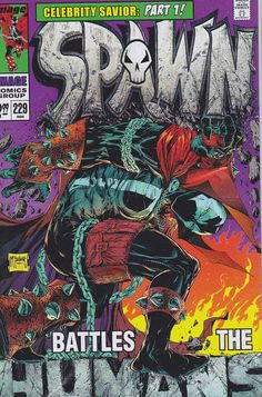 Spawn Image Comics By Todd McFarlane. Created by writer/artist Todd McFarlane, Spawn first appeared in Malibu Sun (May Comic Book Artists, Comic Book Characters, Comic Books, Spawn Comics, Anime Comics, Dc Comics, Jim Steranko, Todd Mcfarlane, Image Comics
