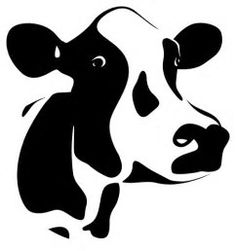 Dairy Cow Silhouette に対する画像結果
